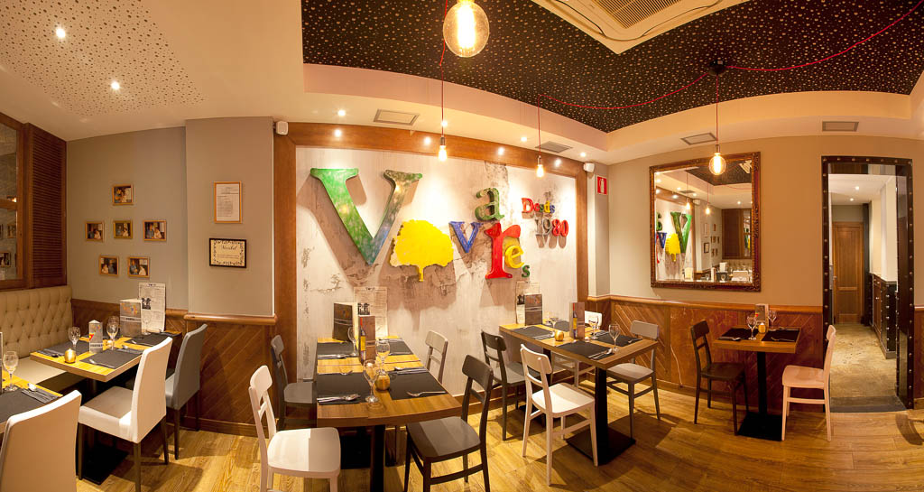 Interior Restaurante Vivares