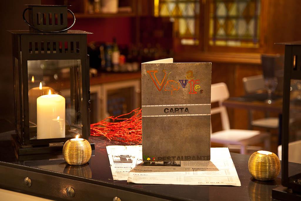 Restaurante Vivares carta