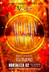Autumn party en Vivares