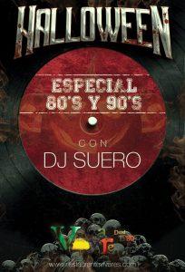 Halloween con DJ SUERO en Vivares