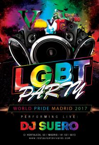 Orgullo gay 2017 en Vivares