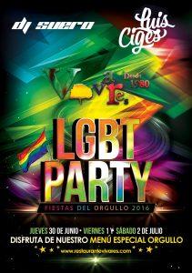 Orgullo gay 2016 en Vivares