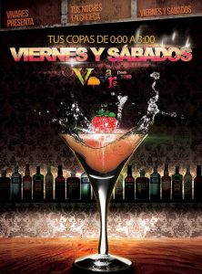 Viernes y sábados en Vivares