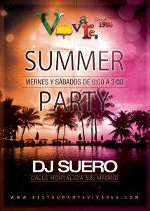 DJ SUERO en Vivares