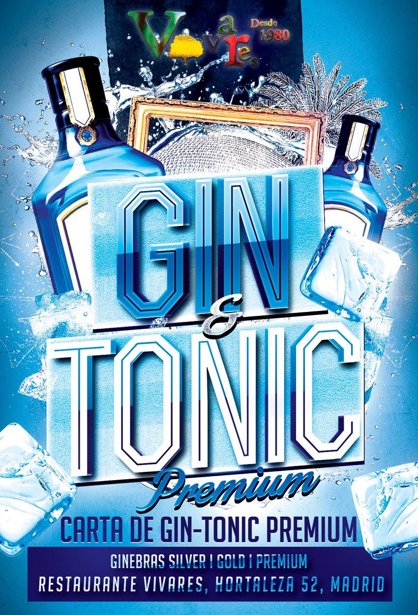 Carta de Gin & Tonic de Vivares